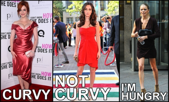 Best Response To The Assertion That Megan Fox Is Now Curvy