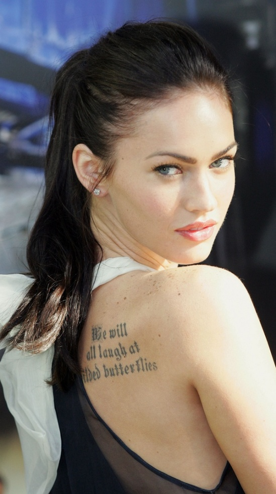 Megan Fox Is Losing The Tattoos