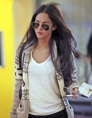 Megan Fox Likes Ray Ban 3025 Fashion Sunglasses