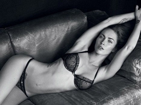 Megan Fox's Sexy Christmas Photos For Armani Campaign